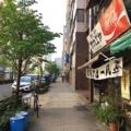 [神田][淡路町][小川町][ラーメン][カレー]お店を出れば、ガラリと平成@神田「栄屋ミルクホール」