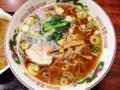 [新宿][新宿御苑前][ラーメン][カレー]新宿の老舗日本蕎麦屋「更科」の醤油ラーメン(自家製麺)