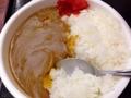 [新宿][新宿御苑前][ラーメン][カレー]新宿の老舗日本蕎麦屋「更科」のミニカレーライス