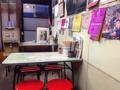 [笹塚][ラーメン]カウンター12席に4名掛けテーブル3卓の計24席@笹塚「中華そば 福寿」