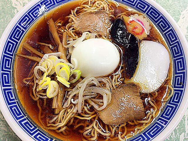 笹塚で60年以上愛される老舗「中華そば 福寿」の五目ラーメン