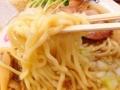 [十条][東十条][ラーメン][肉]背脂でコーティングされた自家製麺@十条「煮干そば 流。(ル)」