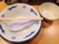 [十条][東十条][ラーメン][肉]ご覧のとおり完食です!(汚いのでぼかし処理済み)