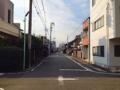 [名古屋][ラーメン]どこか落ち着いた町並みのお店周辺@名古屋「好来道場」