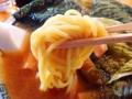 [名古屋][ラーメン]モチッとした食感の中太ストレート麺@名古屋「好来道場」