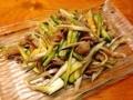 [名古屋][ラーメン][餃子][チャーハン][中華]砂肝の冷菜@名古屋の老舗中華料理屋「萬珍軒」