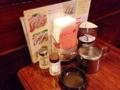 [名古屋][パン][コーヒー][カフェ・喫茶店]灰皿はじめ定番のカスターセット@名古屋「コンパル 大須本店」