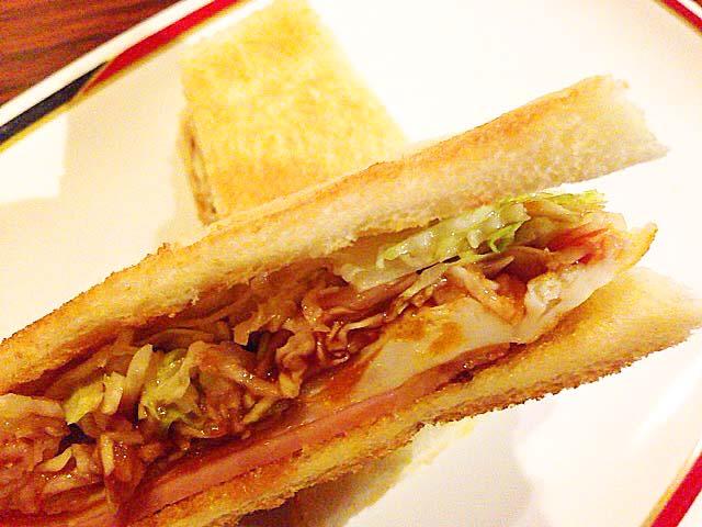 130円のサンドイッチとは到底思えないしっかりとした具@名古屋「コンパル 大須本店」