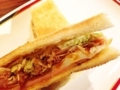 [名古屋][パン][コーヒー][カフェ・喫茶店]モーニングのサンドイッチ@名古屋「コンパル 大須本店」
