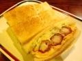 [名古屋][パン][コーヒー][カフェ・喫茶店]名古屋名物のエビフライサンド@「コンパル 大須本店」