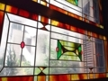 [名古屋][パン][コーヒー][カフェ・喫茶店]味わい深いステンドグラス@名古屋「KAKO 花車本店」