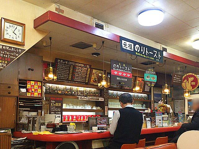ダンディという言葉がしっくり、接客メインの弟・清水徹夫さん@神田「珈琲専門店 エース」