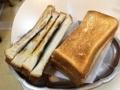 [神田][淡路町][小川町][パン][コーヒー][カフェ・喫茶店]神田の老舗「珈琲専門店 エース」名物・元祖のりトースト(耳付き)