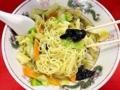 [銀座][東銀座][ラーメン][チャーハン][焼きそば][中華]惜しみない炒め野菜のタンメン@銀座の老舗「中華三原」
