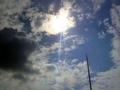 [池袋][デパート][うどん][漫画][孤独のグルメ]青空がおかず@2008年9月頃の西武池袋本店上空