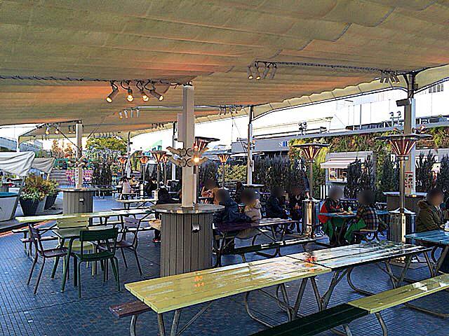 西武池袋本店9F「食と緑の空中庭園」