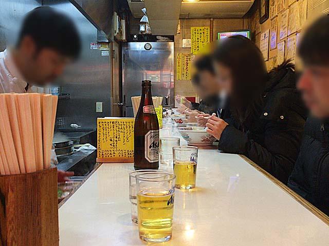 L字型カウンター10席@荻窪「マツマル」