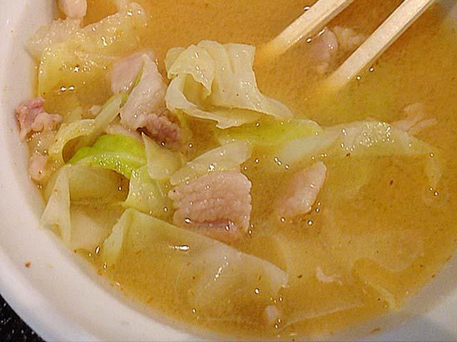 飲むというより食べるに近い感覚の豚汁@東十条「みのや」