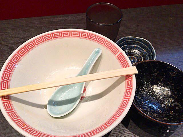 御茶ノ水(湯島)の名店「大至」のラーメンランチ完食