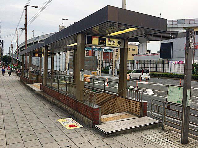 大阪市営地下鉄谷町線・平野駅