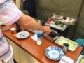 [大阪][平野][串かつ][どて焼き][ドラマ][孤独のグルメ]ソースの2度漬け禁止だから最初にジャブジャブ