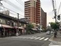 [大阪][美章園][お好み焼き][焼きそば][居酒屋][定食・食堂][ドラマ][孤独のグルメ]JR阪和線・美章園駅前の通りを西に100mほど進んだところの交差点