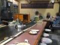 [大阪][美章園][お好み焼き][焼きそば][居酒屋][定食・食堂][ドラマ][孤独のグルメ]カウンターとテーブル合わせて30席くらい@大阪府美章園「甘辛や」