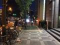 [大阪][中津][たこ焼き][漫画][孤独のグルメ]大阪市営地下鉄御堂筋線・中津駅2番口を出た大通り沿い