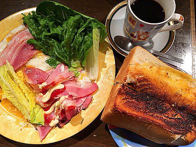 本当においしいんだけど本当に量も多い@大阪府中崎町で人気の老舗「喫茶Y」