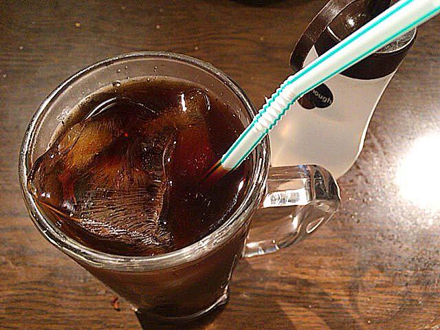おかわりで特別にアイスコーヒーに切り替え@大阪府中崎町で人気の老舗「喫茶Y」