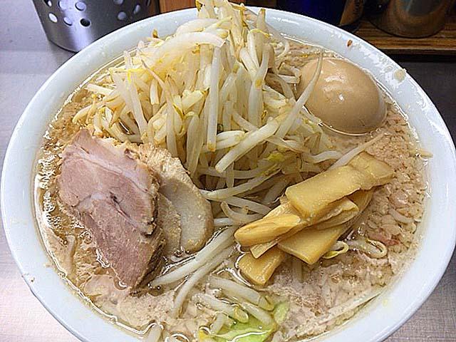 モヤシラーメン+味付玉子で1,000円@東京・千駄ヶ谷「ホープ軒」
