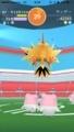 [game][iphone][アプリ][ポケモン]伝説ポケモン・サンダーとのレイドバトル@ポケモンGO
