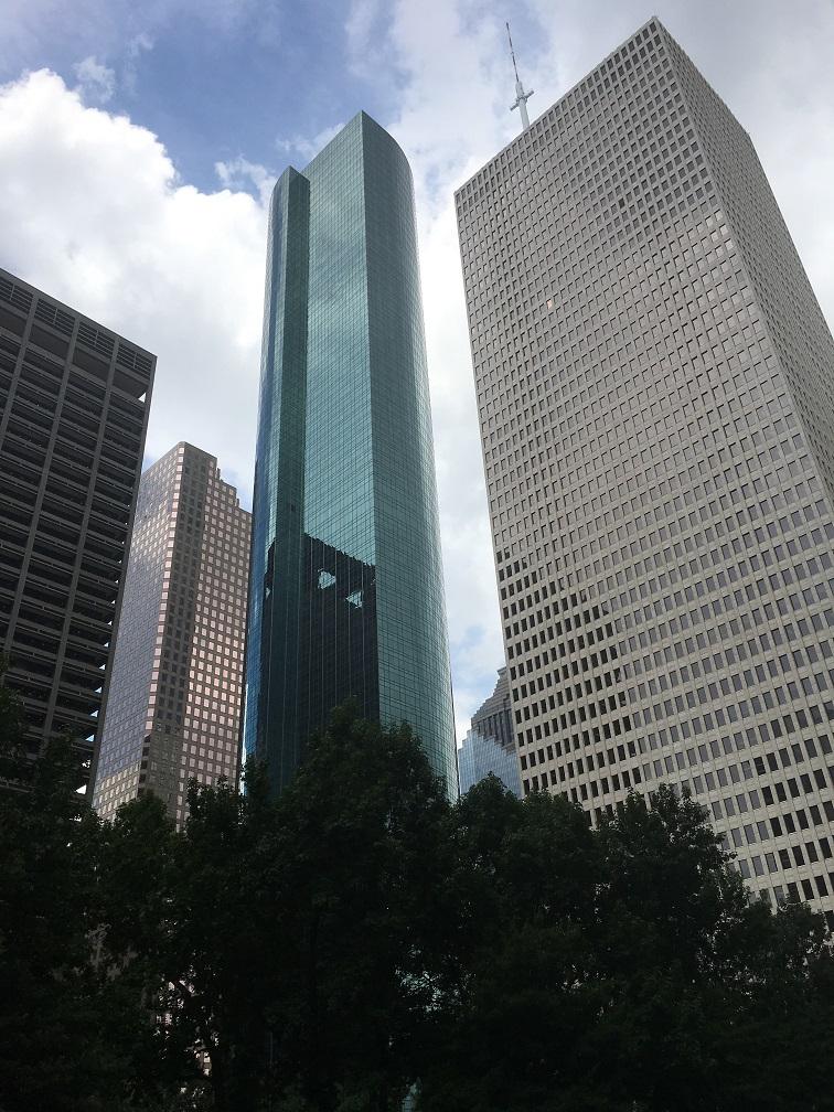ヒューストンダウンタウンの風景①