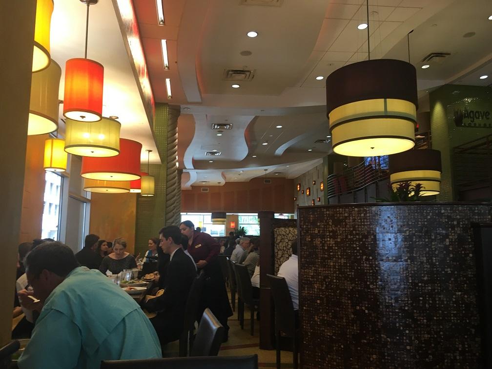 ヒューストンダウンタウンのメキシコ料理店②