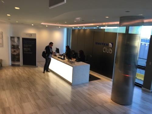 シカゴオヘア空港ターミナル2 United Club 施設②