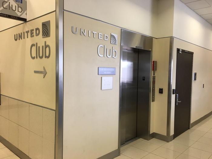 """ユナイテッド航空ラウンジ""""United Club""""@アトランタ空港ターミナルT アクセス②"""
