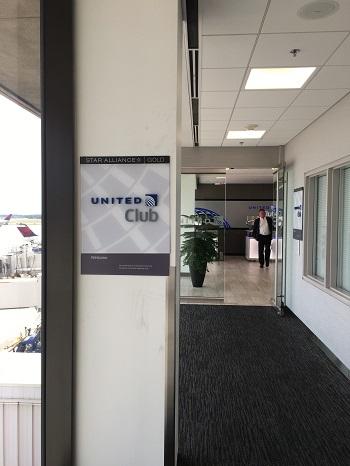 """ユナイテッド航空ラウンジ""""United Club""""@アトランタ空港ターミナルT アクセス④"""