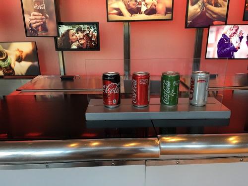 ワールドオブコカコーラ バーカウンター 無料でもらえる4種類のコーラ