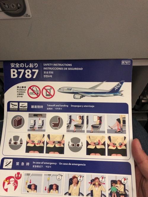 羽田-伊丹修行 B787
