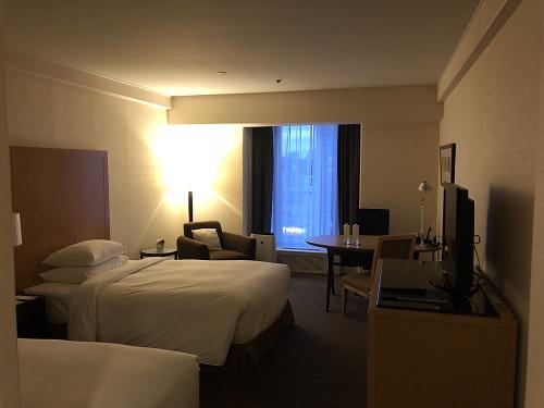 シェラトン都ホテル大阪 滞在部屋