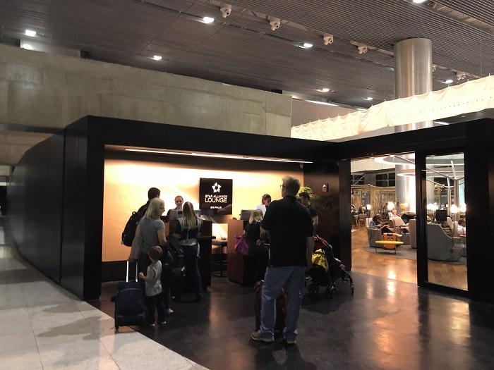 場所・アクセス:スターアライアンスラウンジ@サンパウログアルーリョス空港⑥