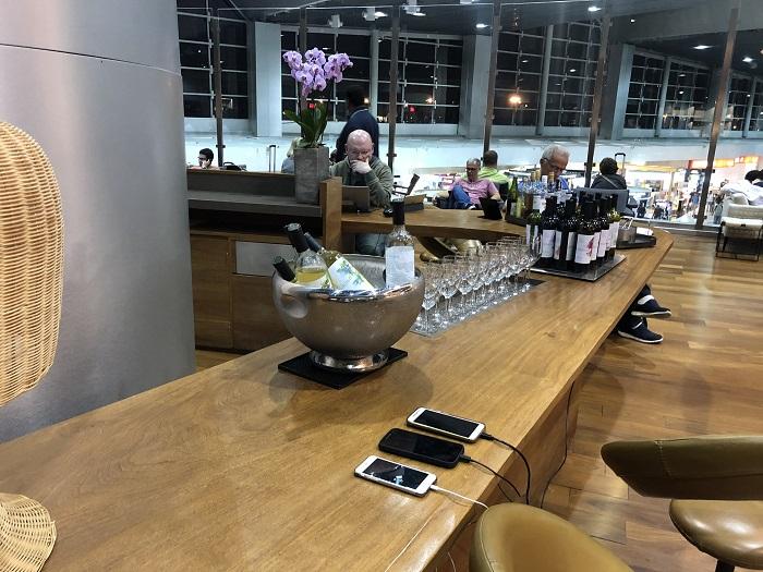 サンパウロ・グアルーリョス空港スターアライアンスラウンジのドリンク②