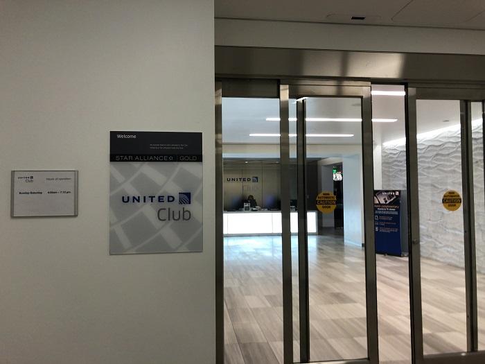 """場所・アクセス:ユナイテッド航空ラウンジ""""United Club""""@ボストン空港(BOS)④"""