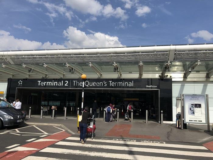 ロンドンヒースロー空港ターミナル2
