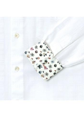 ポールスミス花柄シャツ