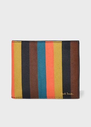 ポールスミスストライプ財布