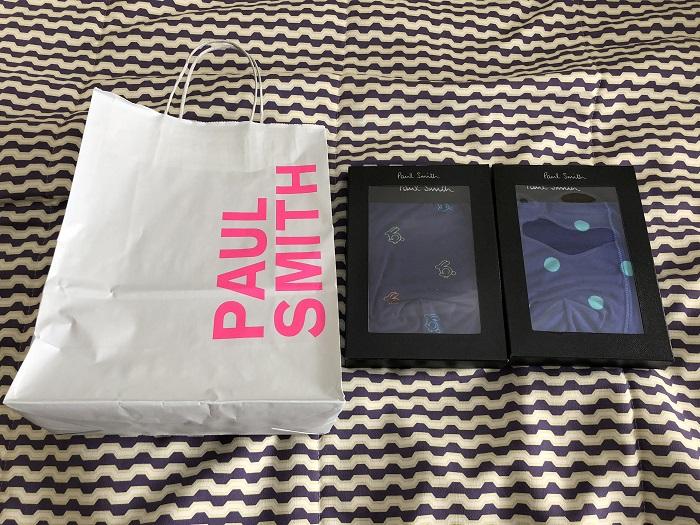 ポールスミスセールショップ@ロンドンで買ったもの パンツ