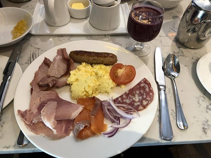 Westin Dublin プラチナ特典 朝食ビュッフェ内容⑨