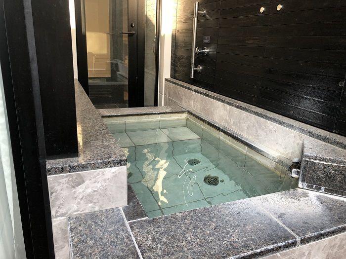 軽井沢マリオットホテル 部屋付温泉露天風呂