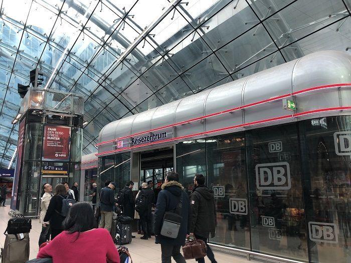 ドイツ鉄道DB 長距離列車ICE チケットオフィス